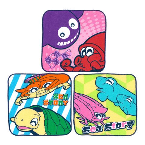 海物語 プチタオルセット(3種セット)