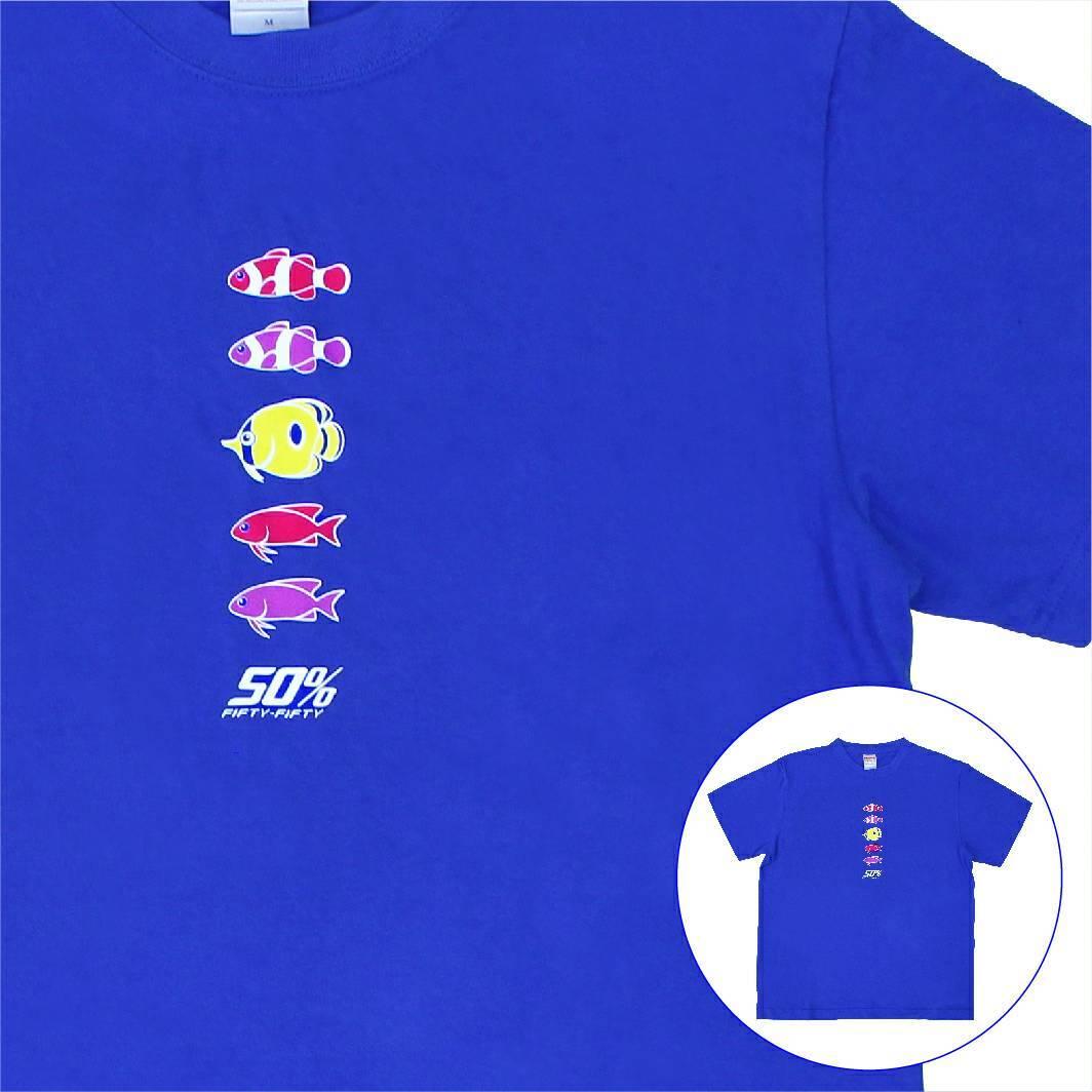 海物語 オリジナルTシャツ 魚群Ver.